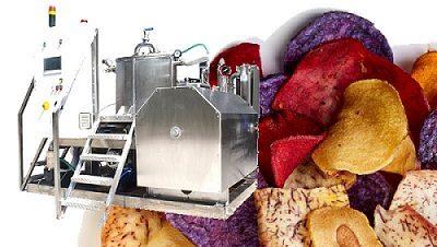 chips fryer vacuum